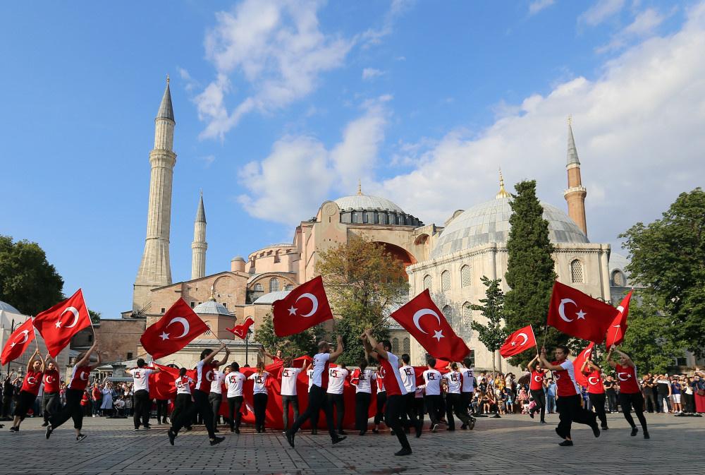 İstanbul ve Londra'da eşzamanlı 15 Temmuz anması - Sayfa 1