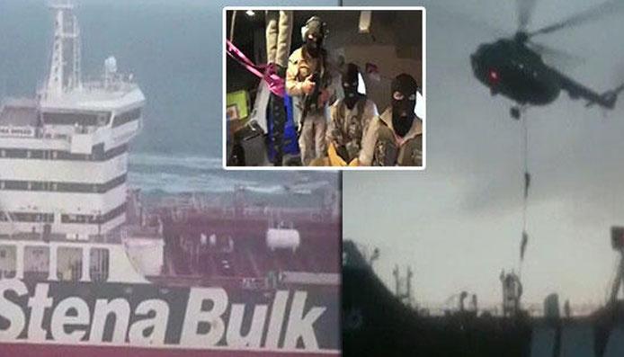 İran krize neden olan operasyonun görüntülerini paylaştı