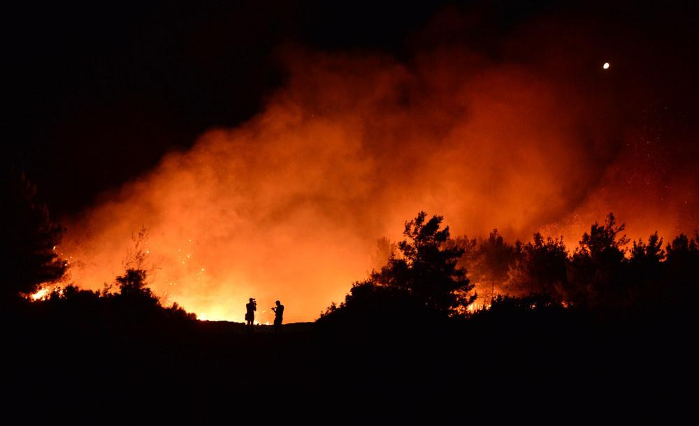 Tarihi Gelibolu Yarımadası'nda yangın - Sayfa 1