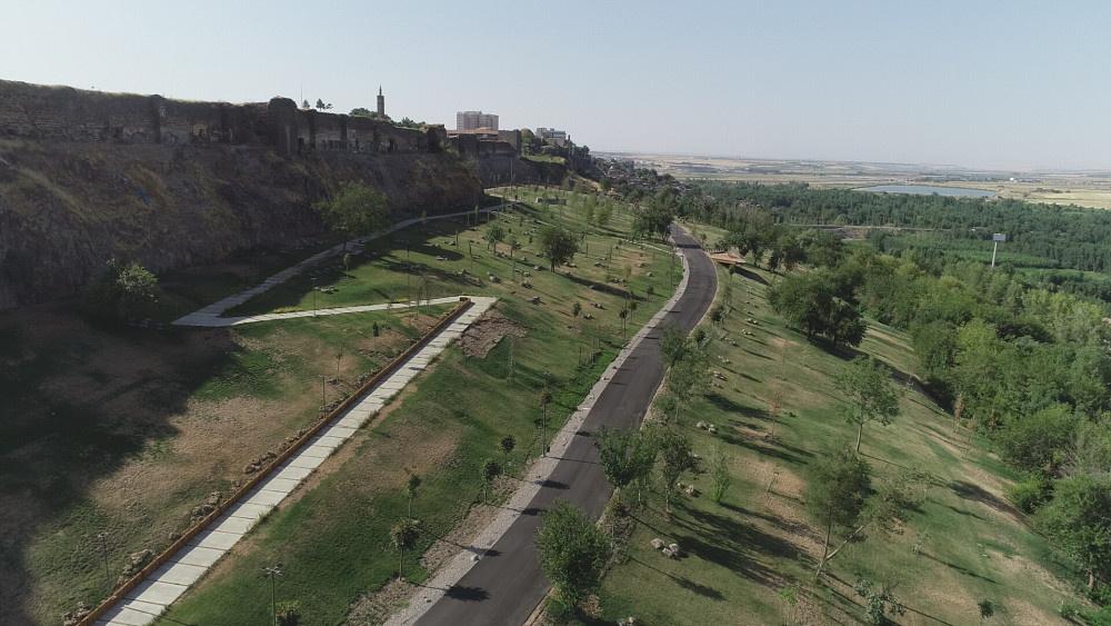 Diyarbakır ve Güneydoğu'nun ilk Millet Bahçesi havadan görüntülendi - Sayfa 1
