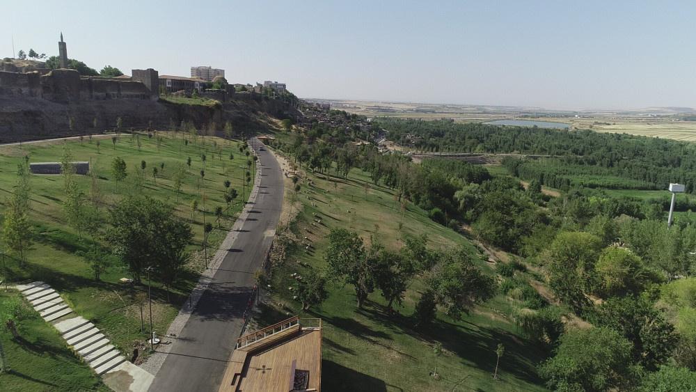 Diyarbakır ve Güneydoğu'nun ilk Millet Bahçesi havadan görüntülendi - Sayfa 2