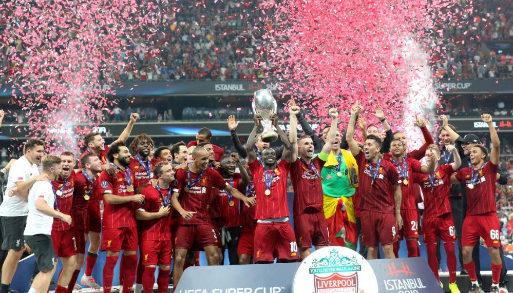 İstanbul'daki finalde Süper Kupa Liverpool'un