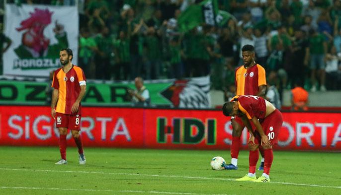 Son şampiyon Galatasaray'dan lige şok başlangıç