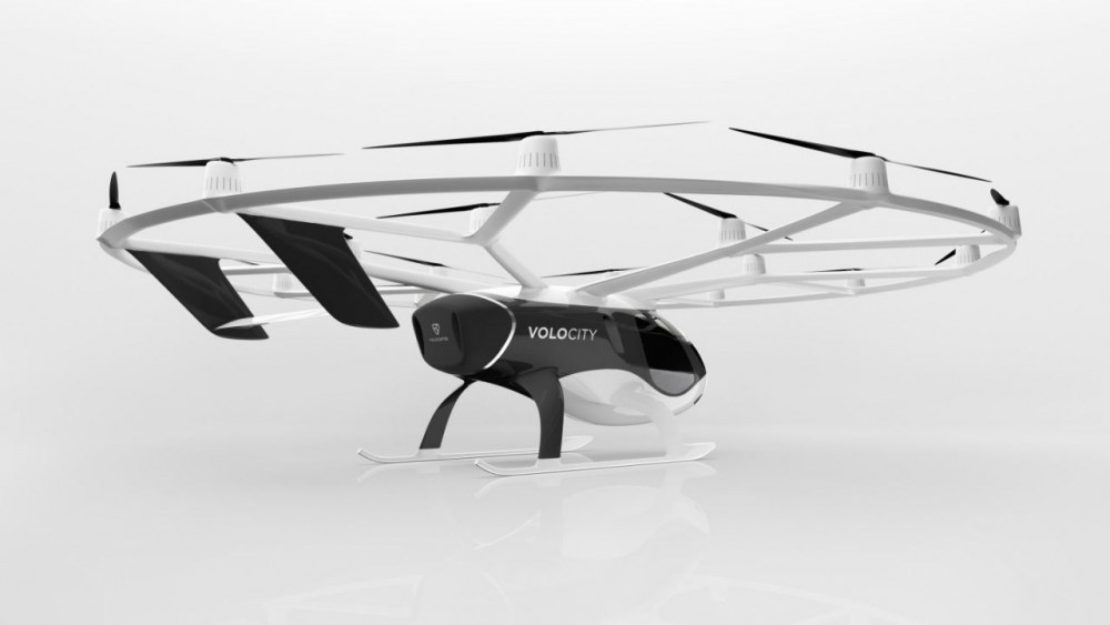 Uçan taksi Volocopter'in dördüncü jenerasyonu göreve başlıyor - Sayfa 4