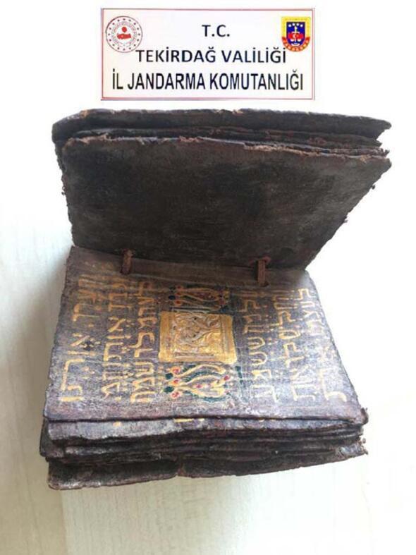 Tekirdağ'da bin 500 yıllık Tevrat tesfiri ele geçirildi - Sayfa 3