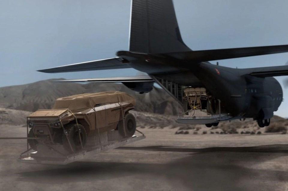 Volvo, yeni askeri aracını tanıttı - Sayfa 1
