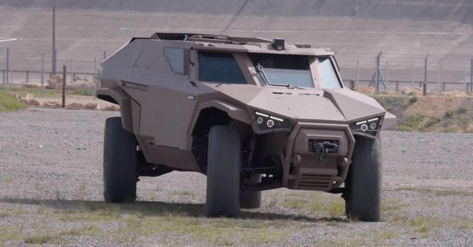 Volvo, yeni askeri aracını tanıttı - Sayfa 3