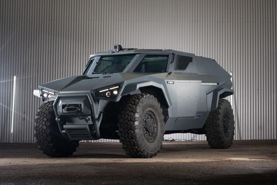 Volvo, yeni askeri aracını tanıttı - Sayfa 4