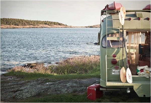 Eski model bir otobüsün müthiş bir kamp aracına dönüşümü - Sayfa 2