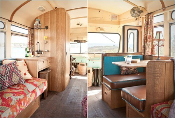 Eski model bir otobüsün müthiş bir kamp aracına dönüşümü - Sayfa 3