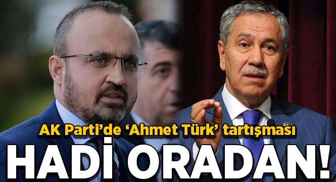 Turan: Ahmet Türk'ün terörle ilgisi yokmuş. Hadi oradan