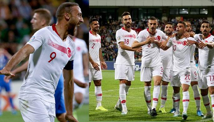 A Milli Takımımız Moldova'da şov yaptı: 4-0