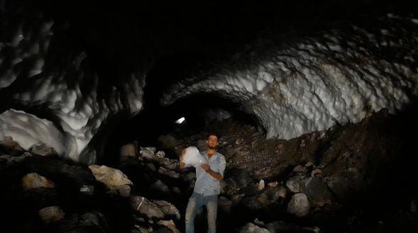 Sason'da görenleri hayrete düşüren kar tüneli - Sayfa 2