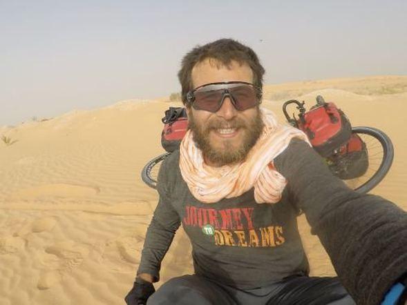 42 günde bisikletle Sahra Çölü'nü aştı! - Sayfa 2