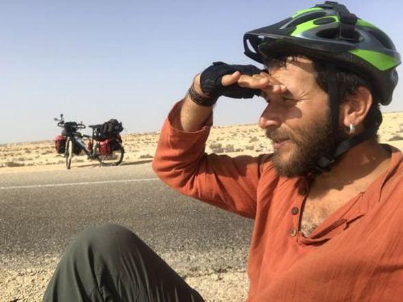 42 günde bisikletle Sahra Çölü'nü aştı! - Sayfa 3