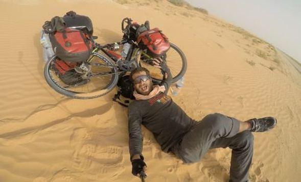 42 günde bisikletle Sahra Çölü'nü aştı! - Sayfa 4