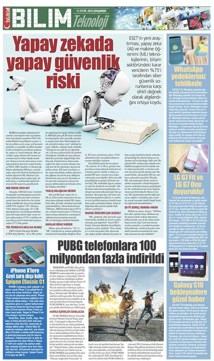 İstiklal Gazetesi 14'nci Sayfa