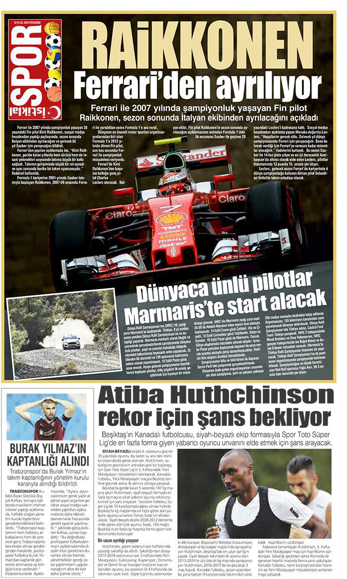 İstiklal Gazetesi 15'nci Sayfa