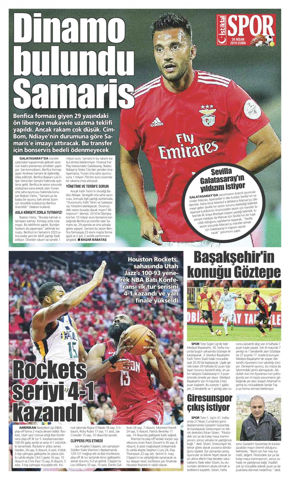 İstiklal Gazetesi 7'nci Sayfa