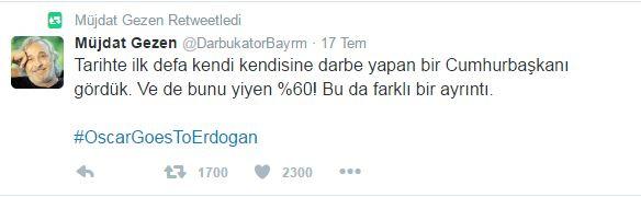 müjdat gezen fetö darbe tank suç 15 temmuz recep tayyip erdoğan